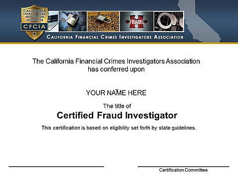 Sample CFI Certificate
